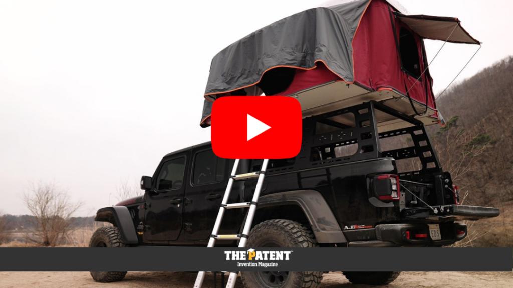 tenda campeggio auto